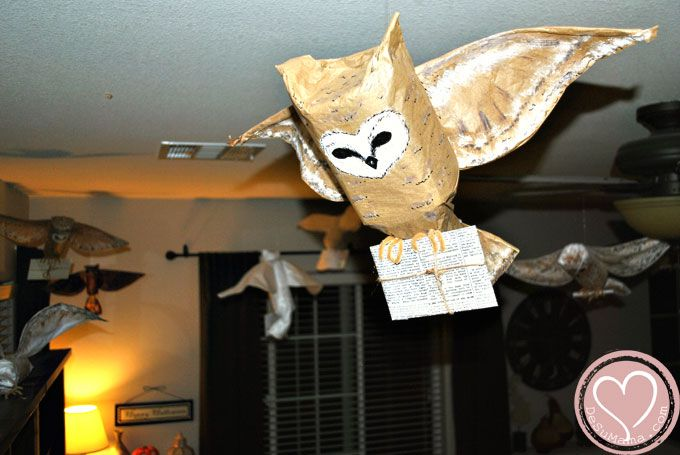 harry potter party part one sweet home owl and style. Black Bedroom Furniture Sets. Home Design Ideas