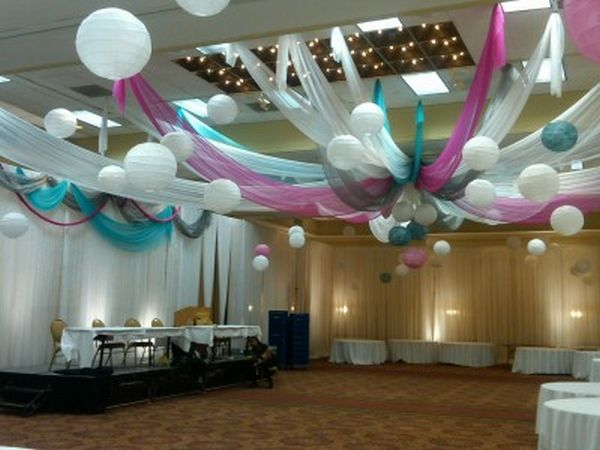 Diy Wedding Ceiling Decorations Home Designs Decorating Ideas