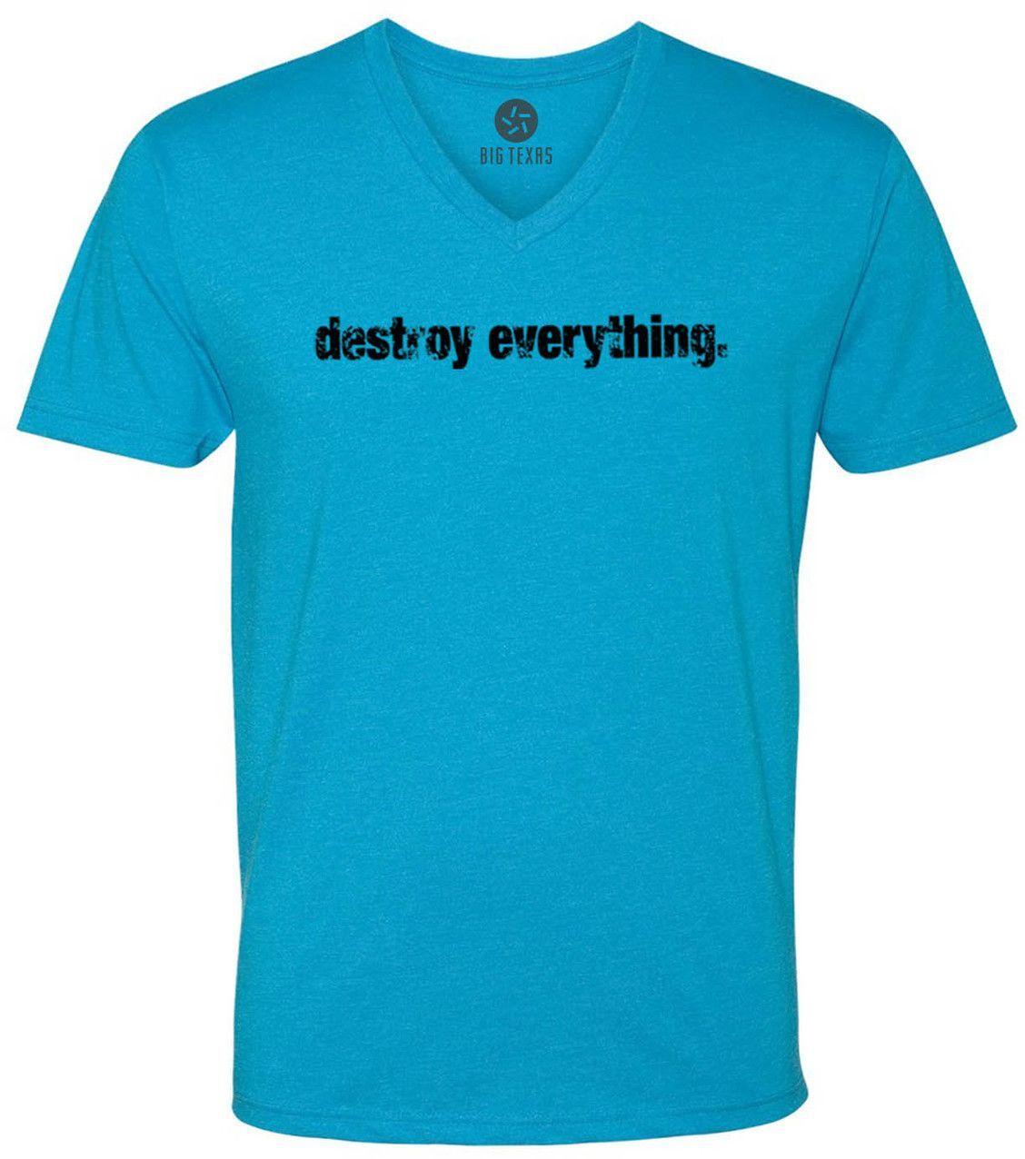 Destroy Everything (Black) Short-Sleeve V-Neck T-Shirt