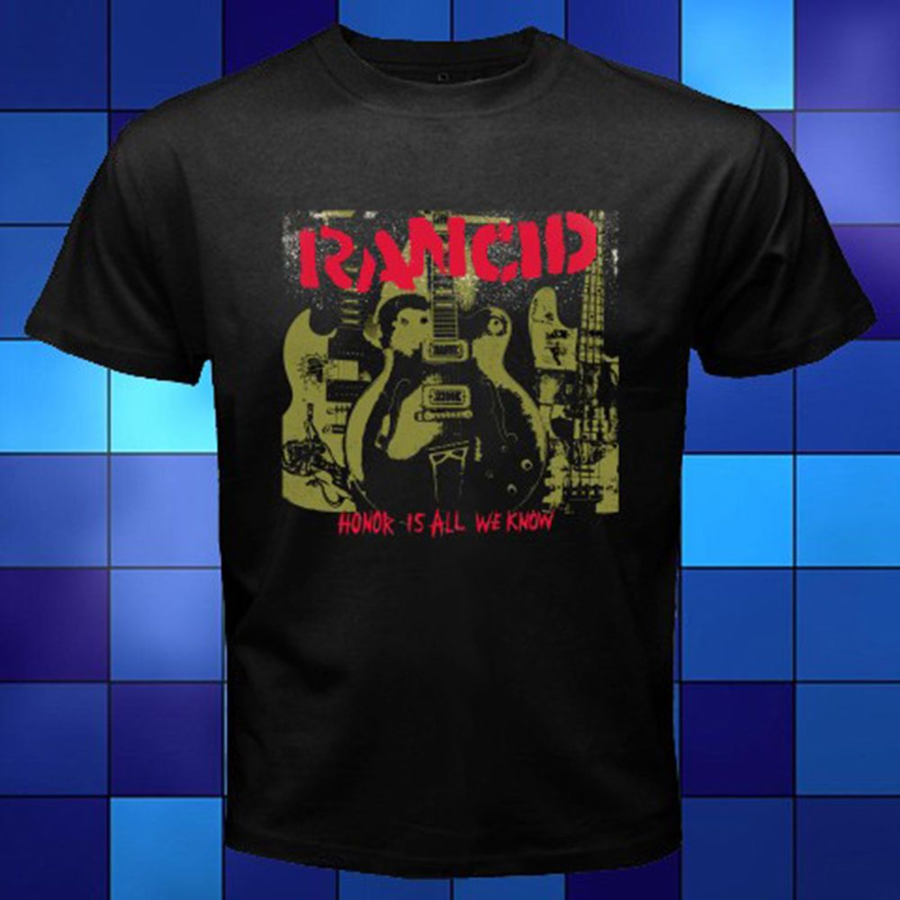 Rancid /'Honor Is All We Know/' T-Shirt NEW /& OFFICIAL!