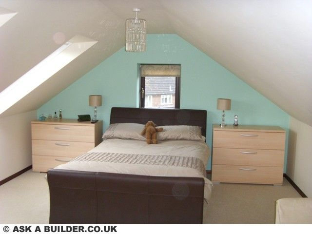 Marvelous Loft Conversion Bedroom Design Ideas Part - 10: DIY Small Attic Rooms | As You Can See This Conversion As Created A Very  Large