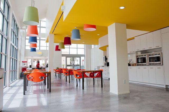 color use | cafeteria
