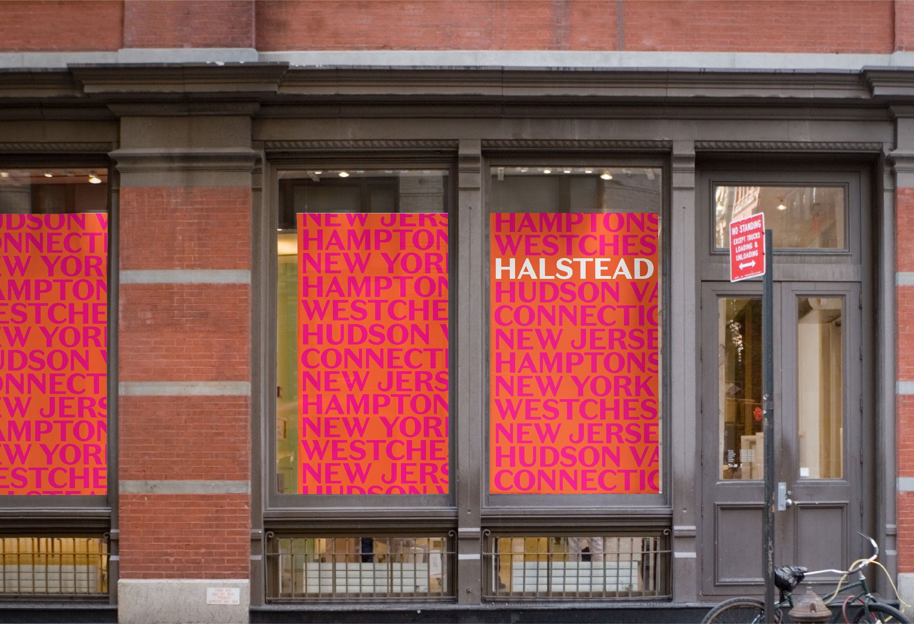 Halstead A Dynamic Brand Identity Showcases The Multidimensional Approach Of One Environmental Graphic Design Real Estate Brokerage Residential Real Estate