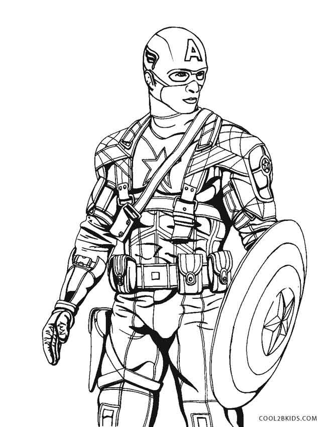 Coloring Pages | Cool2bKids | Captain america coloring ...