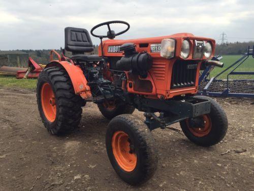 Kubota B5100 Compact Tractor Uk Supplied Modern Tractors Tractors Tractors Compact Tractors Kubota