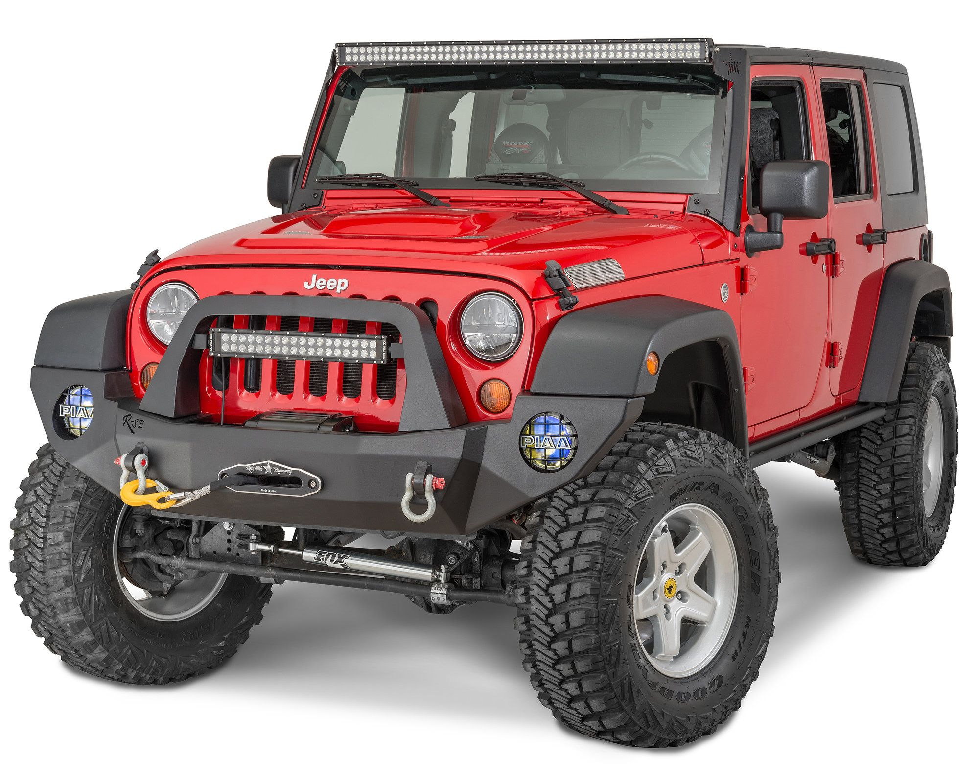 The Rse Rock Slide Engineering Front Bumper Is Built With 3 16 Jeep Wrangler Construction Alloy Steel Or Aluminum And 1 4 Mounting Plates