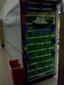 Homecoming Door Decorations Doors Decorated For