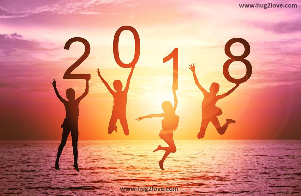 Happy New Year 2018 Hd Wallpaper Free Download  Happy new