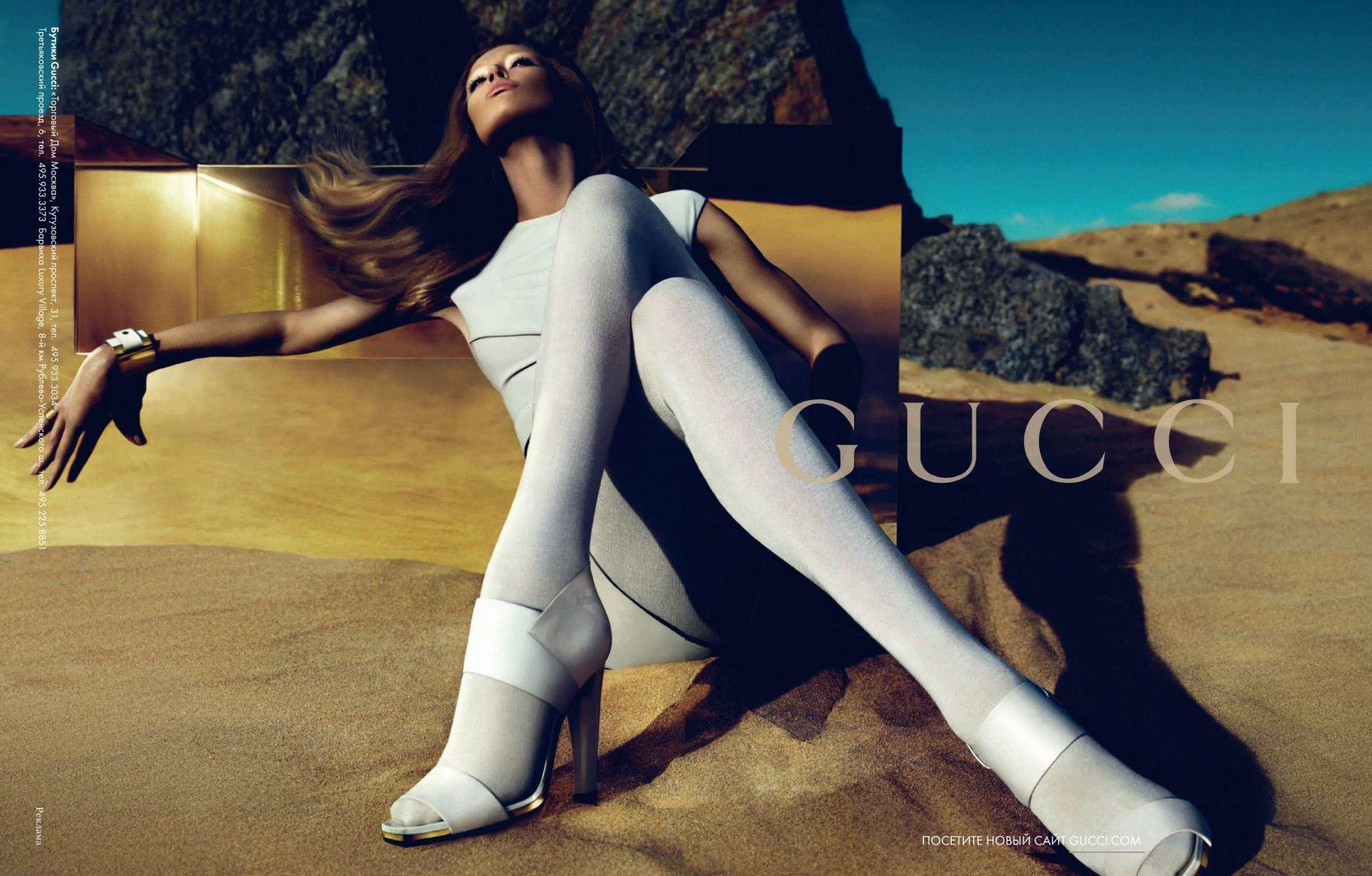 87c8d645f2 Gucci   GUCCI Glamour AD   Fashion, Desert fashion, Gucci ad