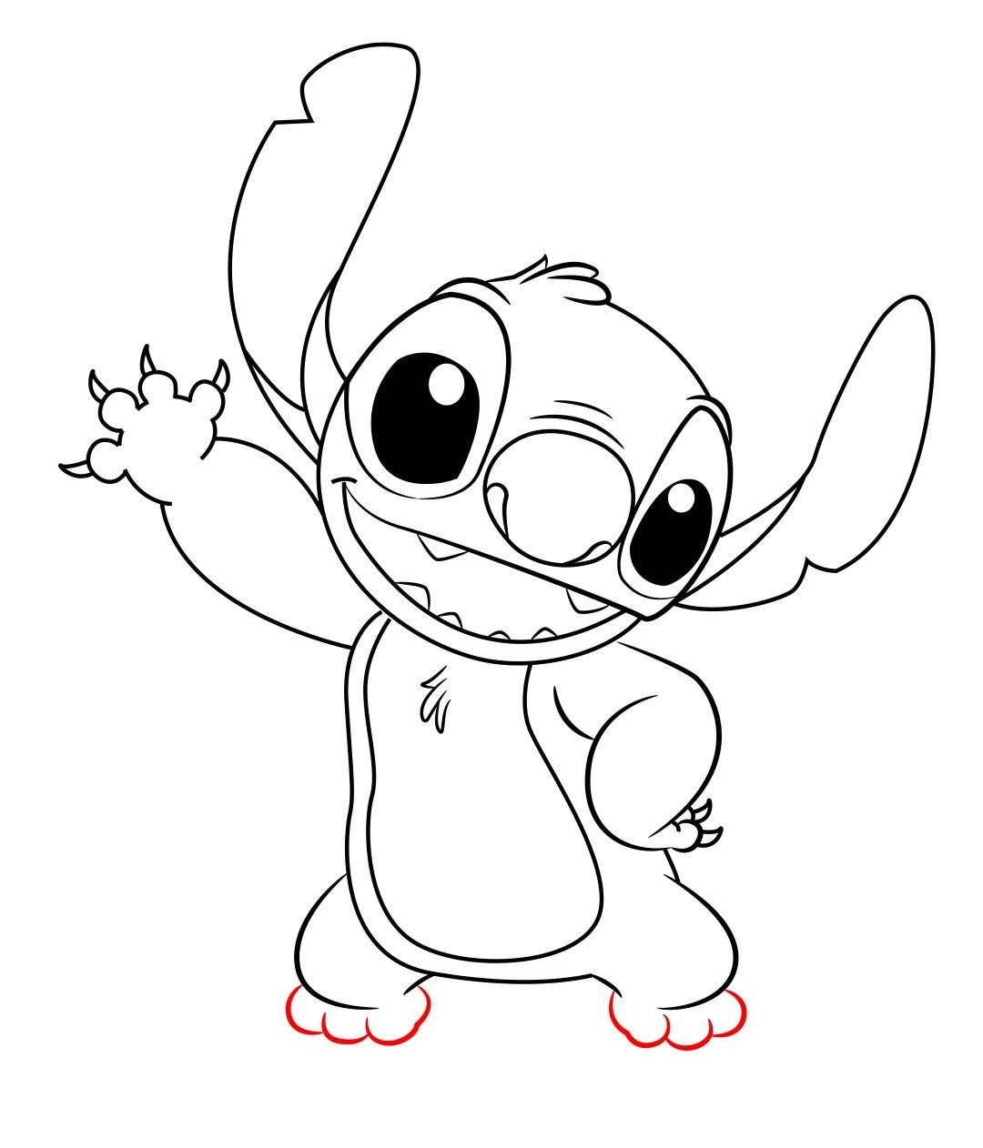 How to draw stitch from lilo and stitch lilo stitch