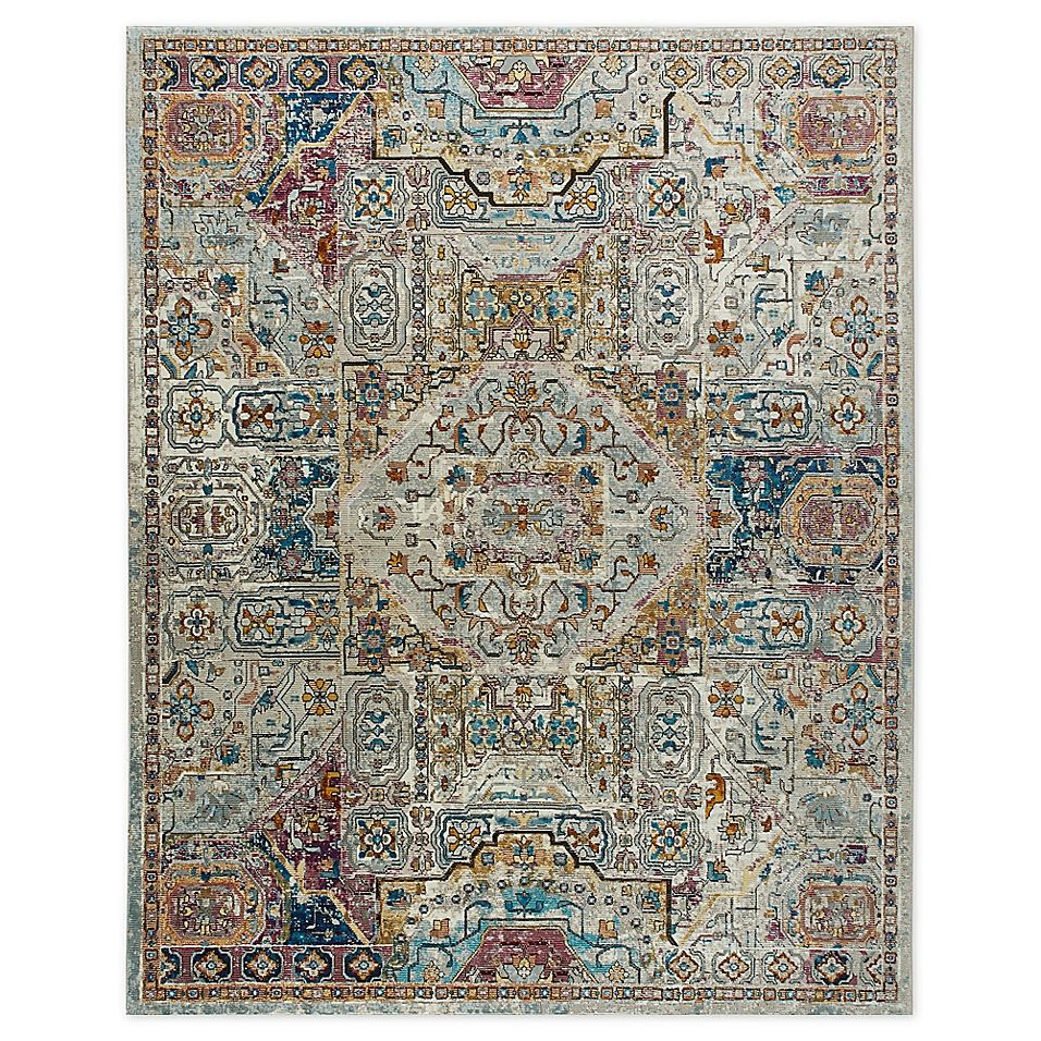 Parlin By Nicole Miller Kaleidoscope 7 9 X 9 5 Area Rug In Ivory Multi Woven Rug Rug Making Area Rugs