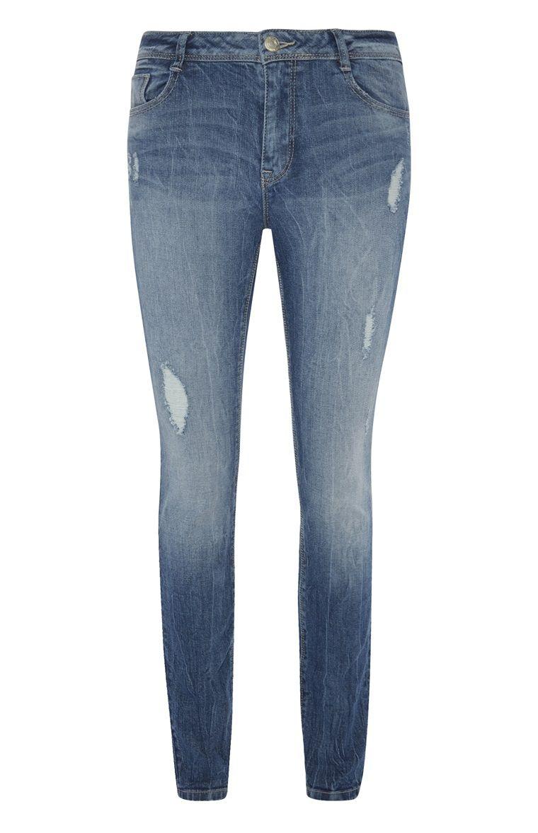 16c1ea9f4886ea Primark - Skinny boyfriend-jeans in versleten look