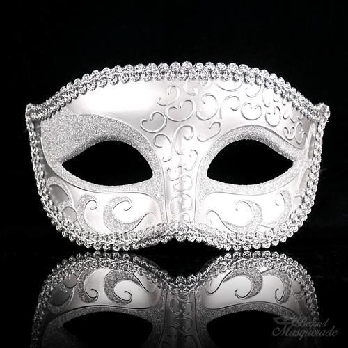 Black /& White ! Beautiful Designed Party Mask