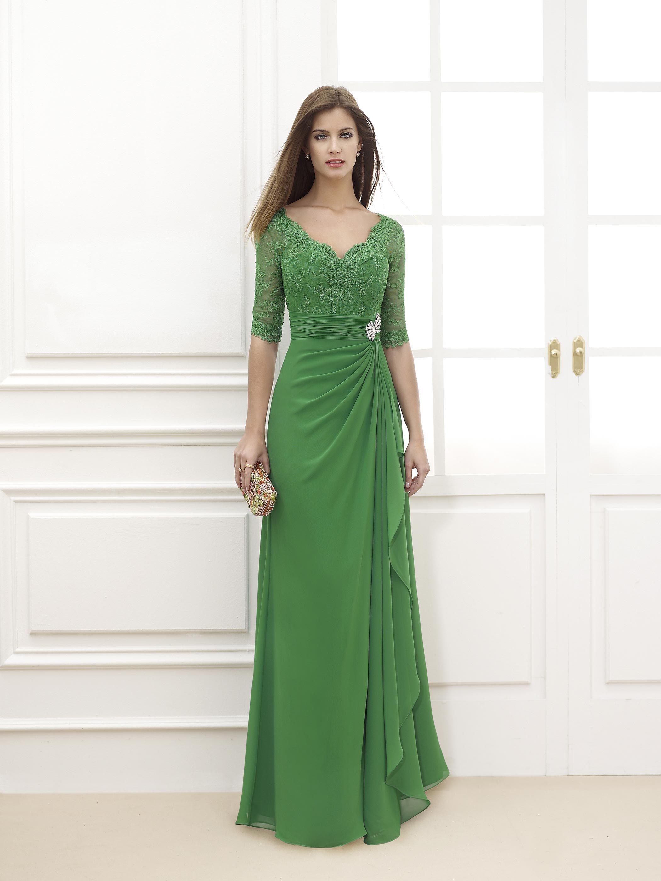 50 vestidos de fiesta verdes 2020: vístete con el color del éxito y la seguridad