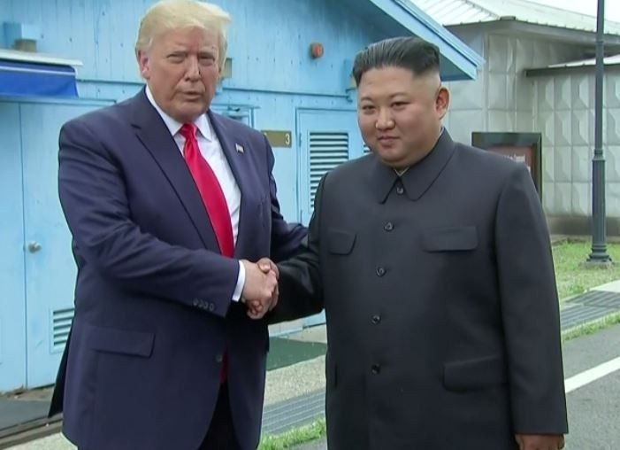 ICYMI: Trump Makes Historic Visit To North Korea's Demilitarized Zone (Photo)
