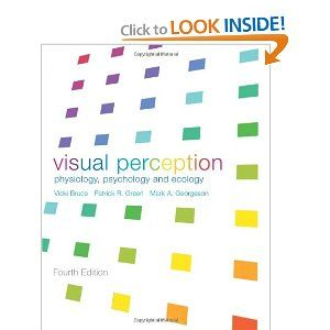 Visual Perception: Physiology, Psychology and Ecology (9781841692388): Vicki Bruce, Mark A. Georgeson, Patrick R. Green: Books