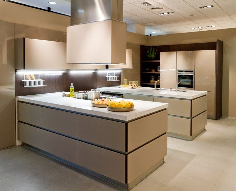 50 ultra modern custom kitchen designs - home garden decoration