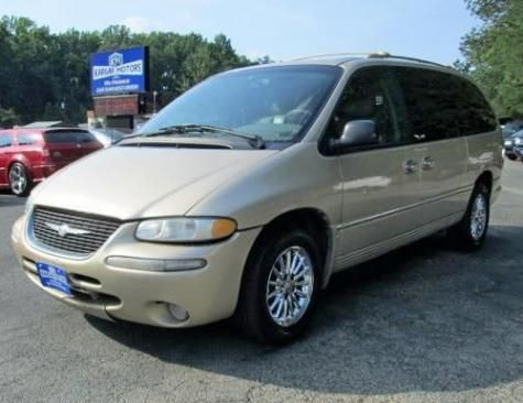 877 Only 2000 Chrysler Town Country Limited Minivan In Virginia
