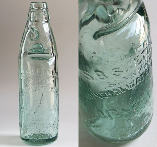 Clear Glass Mineral Water Bottle Barrett S Brewery