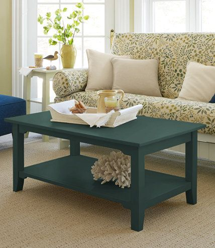 painted cottage coffee table coffee tables at l l bean furniture rh pinterest com