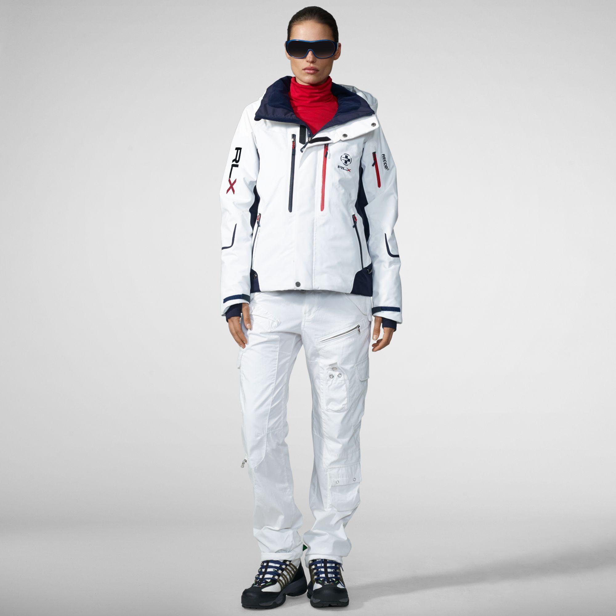 795a173955 Ralph Lauren White Vail Ski Jacket  RLX