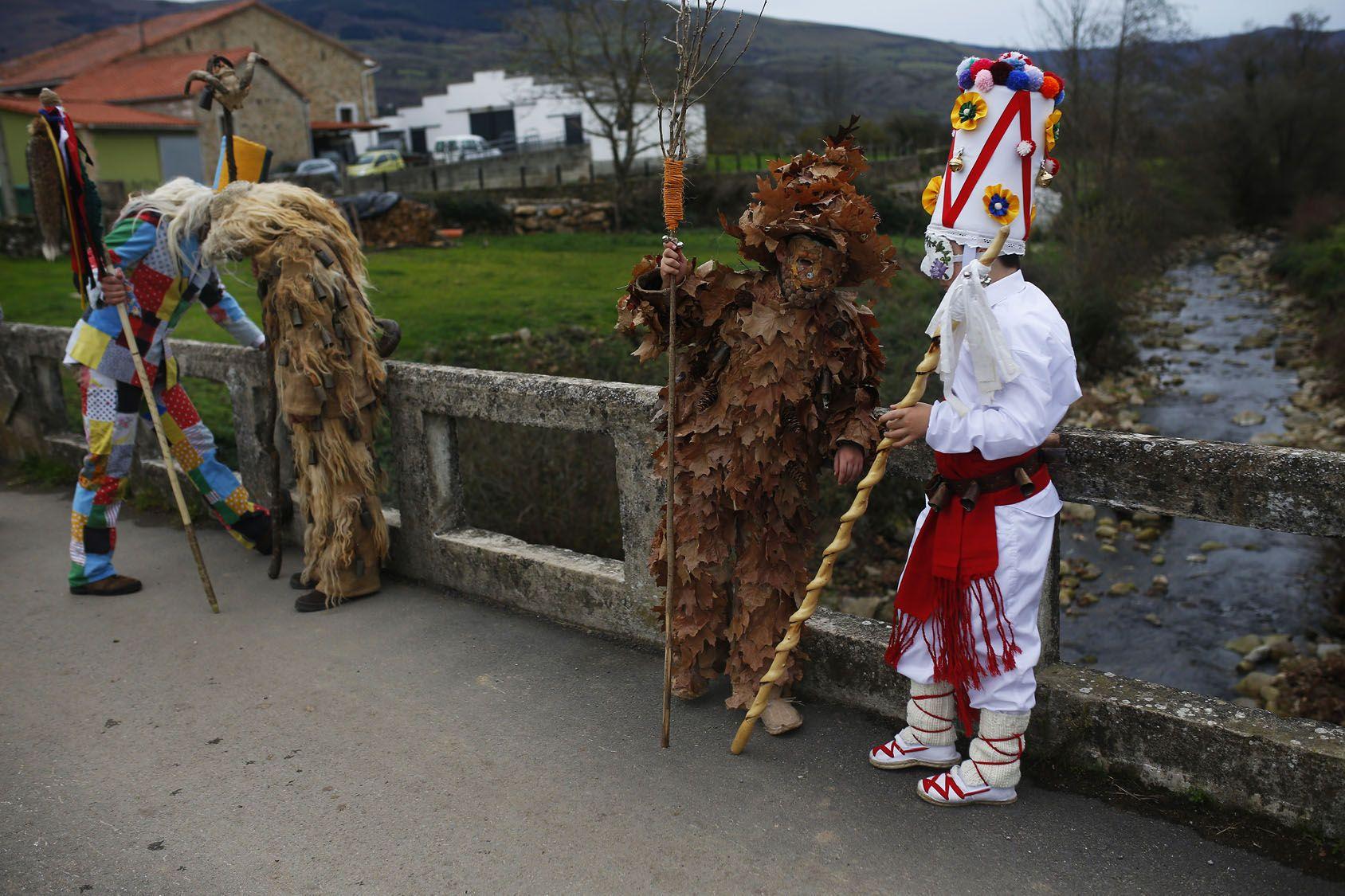 Northern Spain's La Vijanera festival