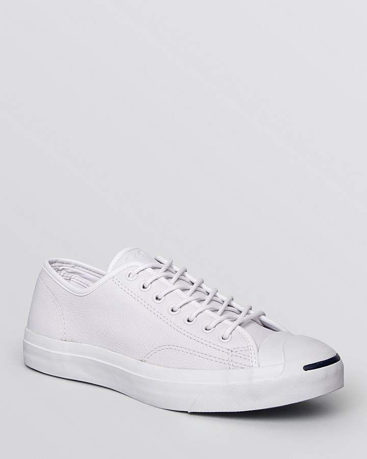 bd7a4abcb839 Converse Men s Jack Purcell Jack Lace Up Sneakers