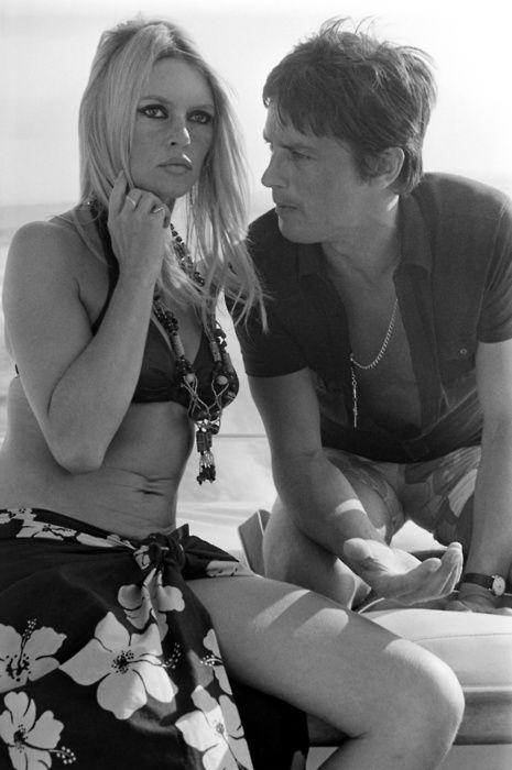 Brigitte Bardot Alain Delon Met Afbeeldingen Zwart Wit
