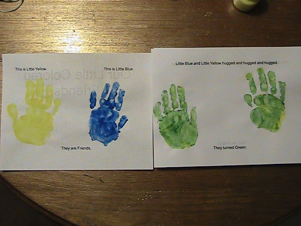 Educational creativity: Little Blue and Little Yellow   Work ...