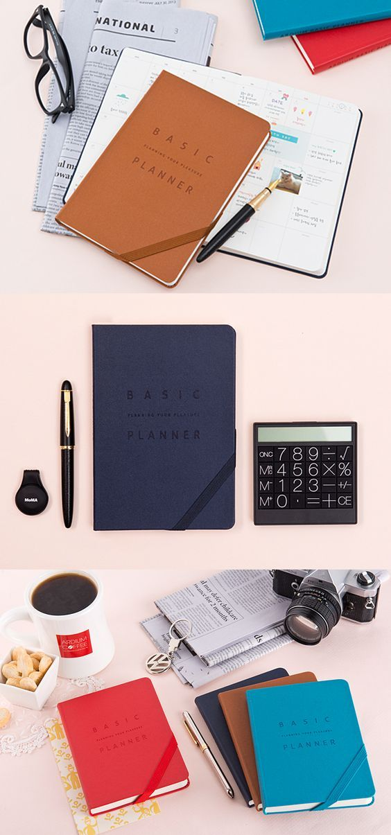 the medium basic planner has everything you are looking for you can start organizing with