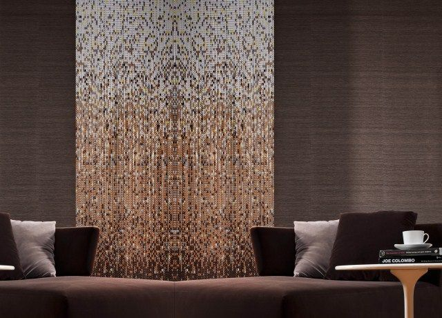 Aluminium Chain Curtain For Decoration Designed By Claire Davies