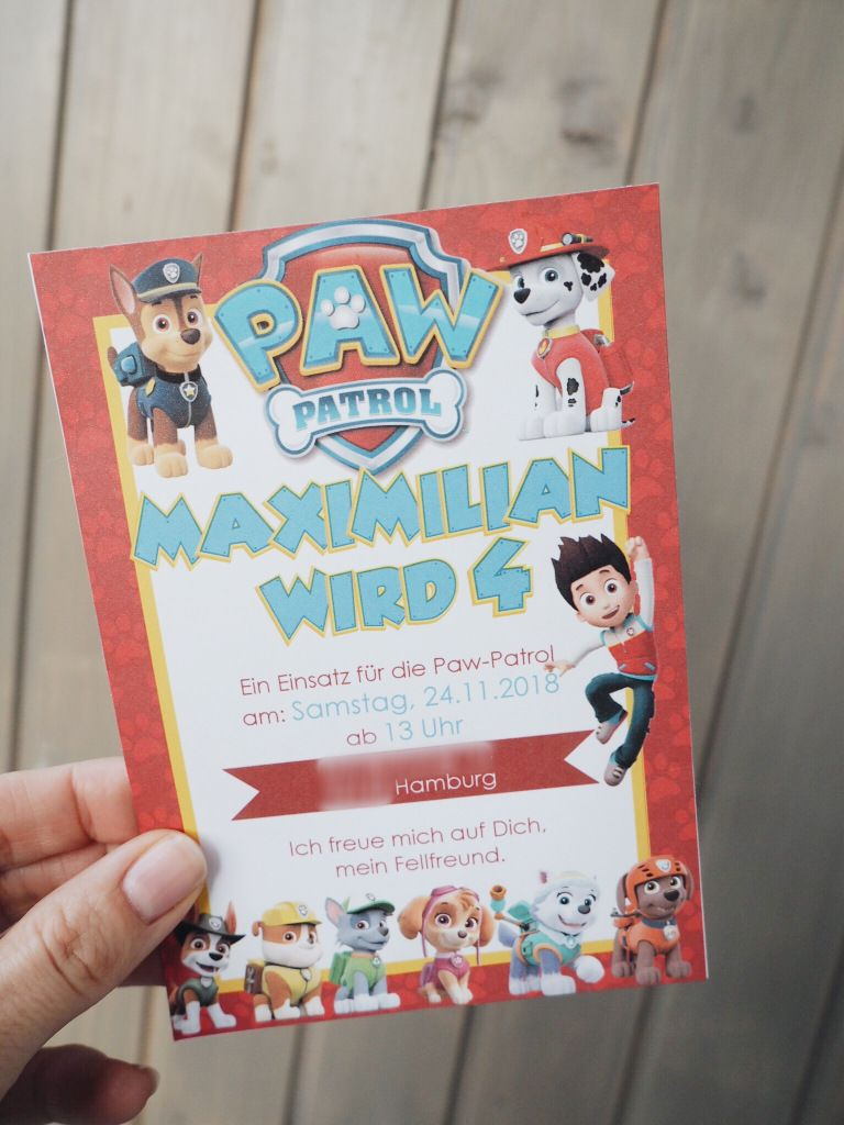 Photo of Paw Patrol Party zum 4ten Geburtstag – sardoe Yulsawov