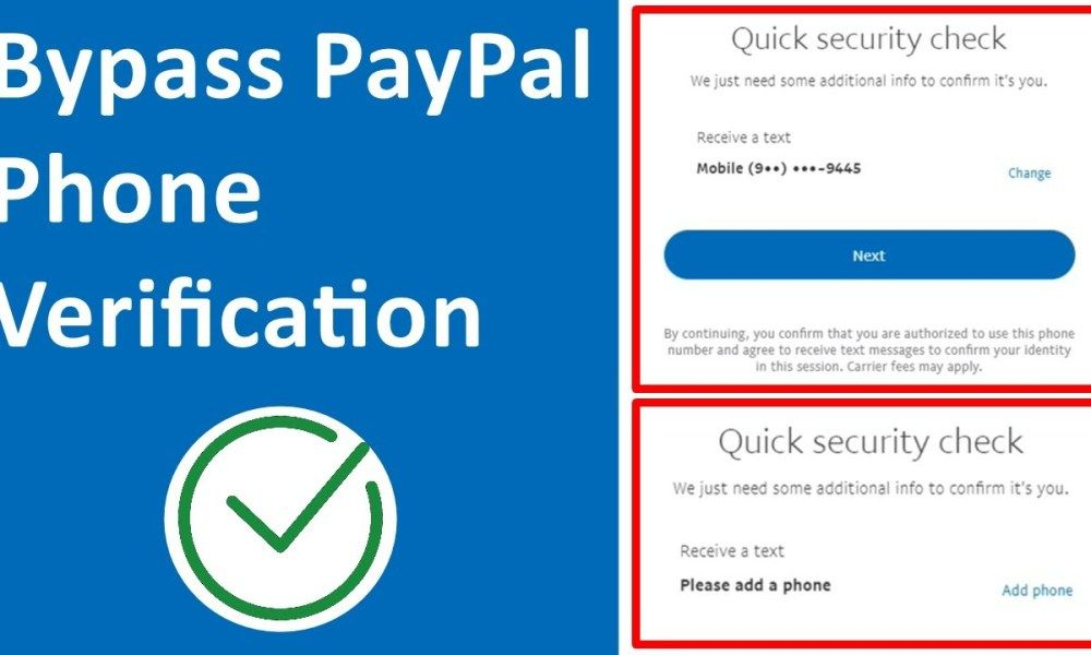 How To Bypass Paypal Phone Verification 2021 In 2021 Paypal Bypass Phone