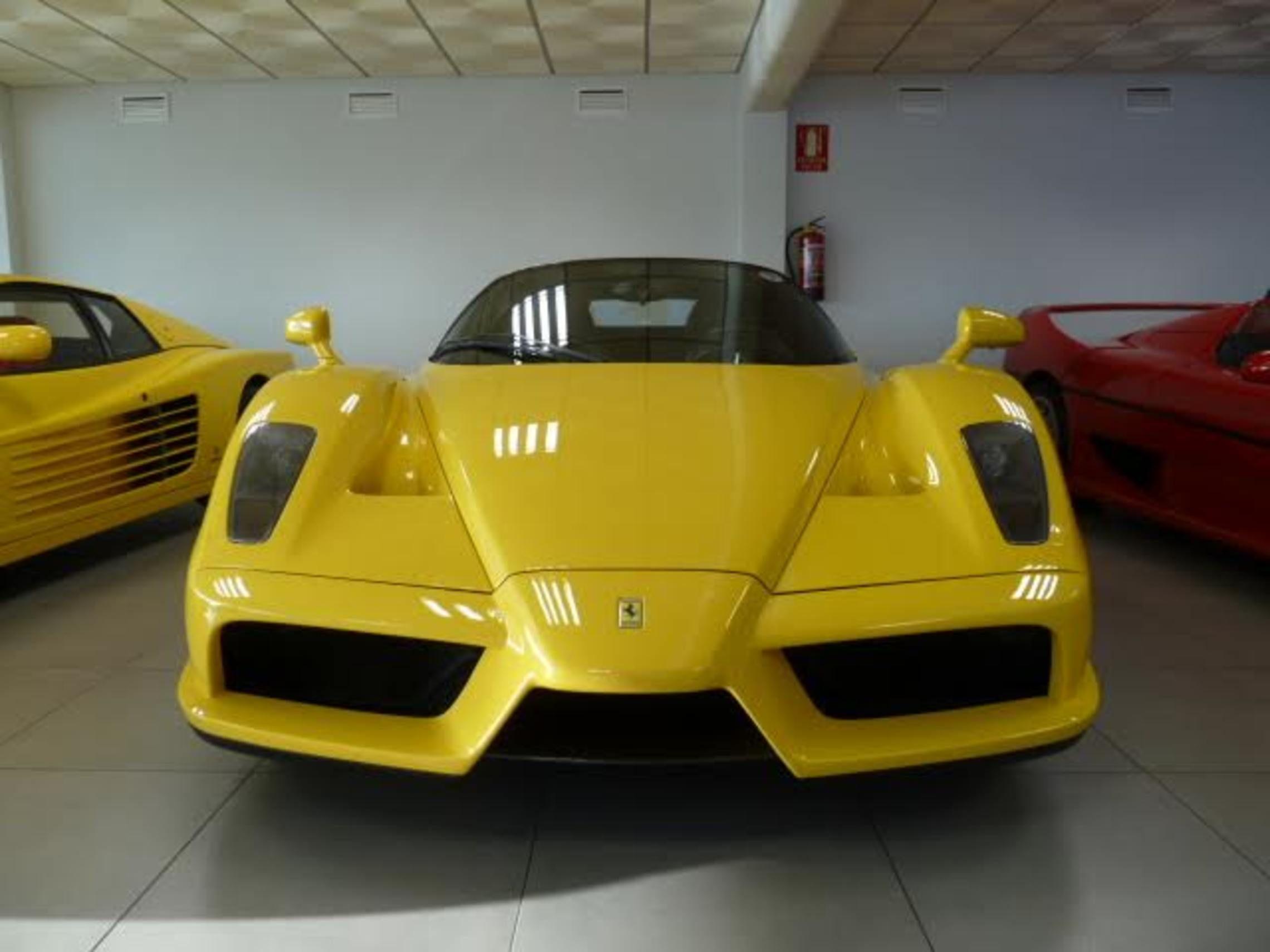 Used luxury car A Fantastic Ferrari Enzo in Yellow, Registered 02 ...