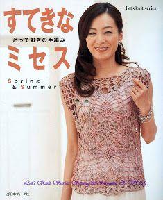 LET'S KNIT SPRING-SUMMER No.4356 - yafen zhang - Álbumes web de Picasa