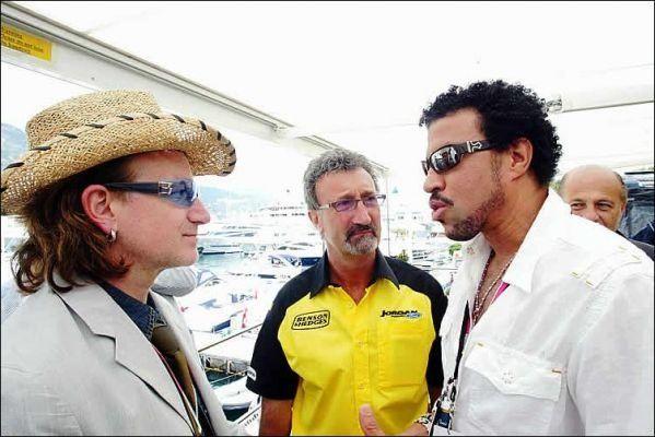 Bono and Lionel Richie