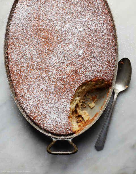 Grandma's Buttermilk Banana Cake Recipe - House of Brinson