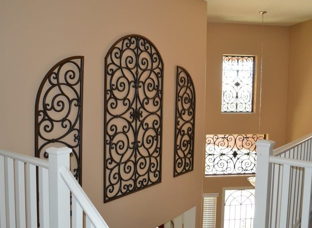 Copy These DIY Stylish Wall Decor Ideas To Bring Your Empty Walls To Life.  Add · Wrought Iron ... Nice Ideas