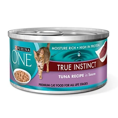Purina ONE True Instinct Tuna Recipe in Sauce Wet Cat Food