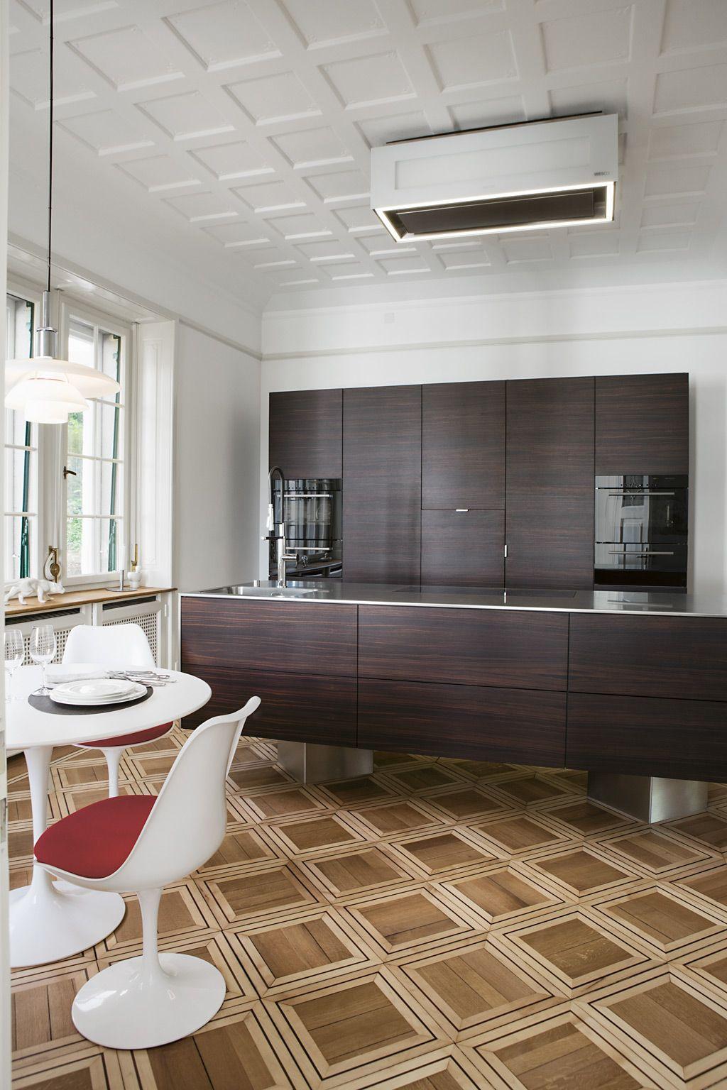 Villa Garai Eines der Herzstücke der Wohnung ist die neue Elbau ...