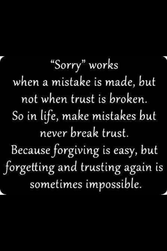 Broken Trust Quotes And Saying With Images: Share