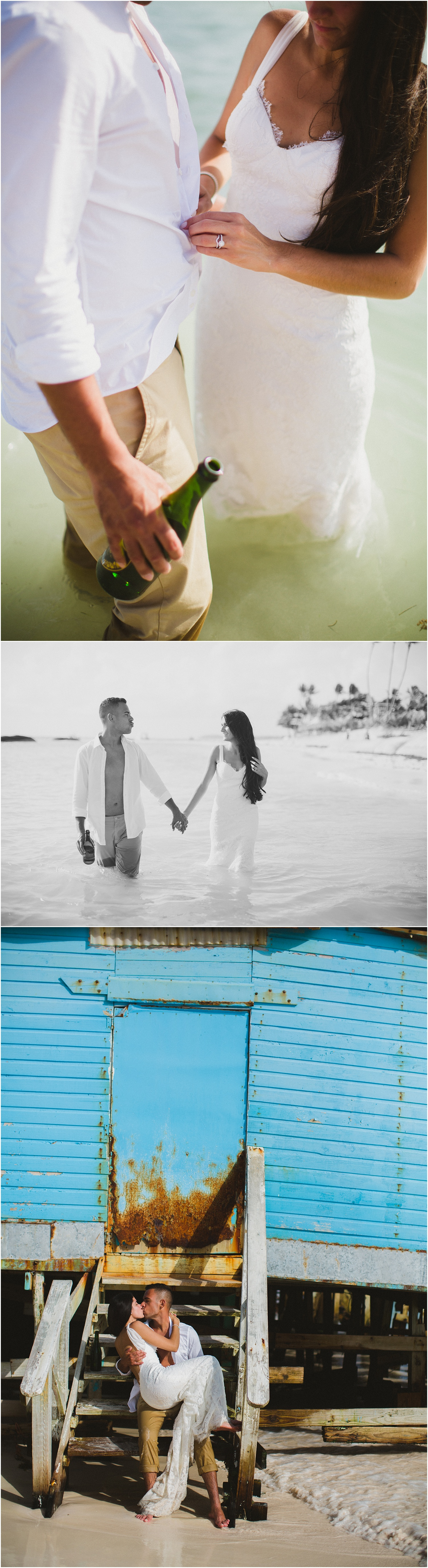 Ocean blue u sand punta cana wedding kelly marcos rock the