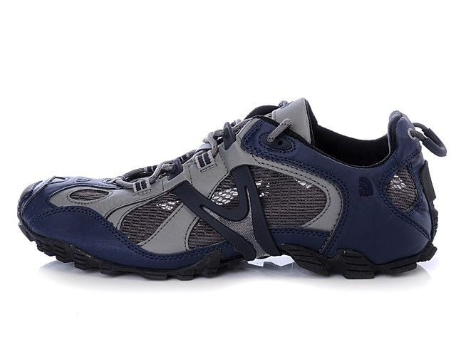 North Face Mens Shoes Blue/Gray