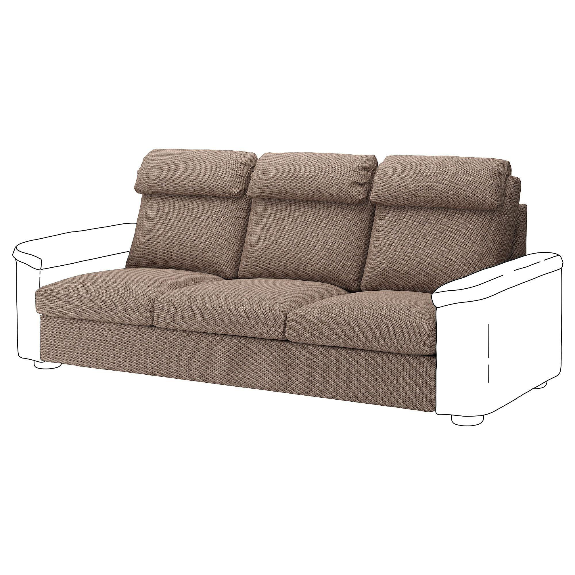 Lidhult Sofa Section Lejde Beige Brown Modular Sofa Ikea Sofa