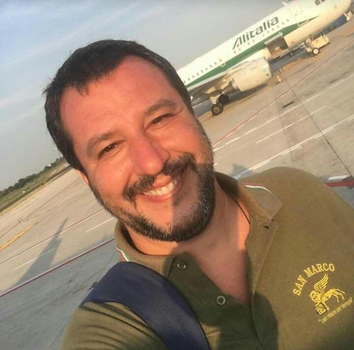 Matteo Salvini lega nord Lego