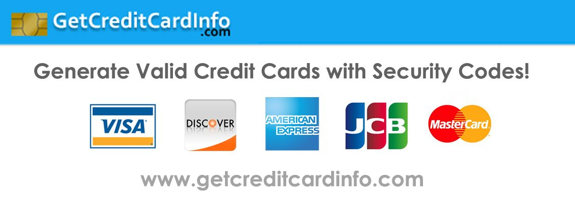 Get Fresh Valid Credit Card Numbers With Fake Details And