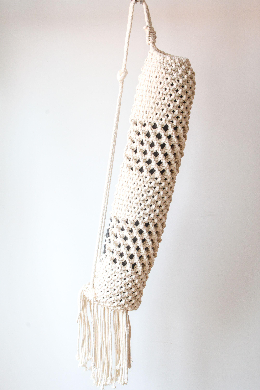 Boheme Macrame Yoga Mat Bag Macrame Croche Cartao Para Imprimir
