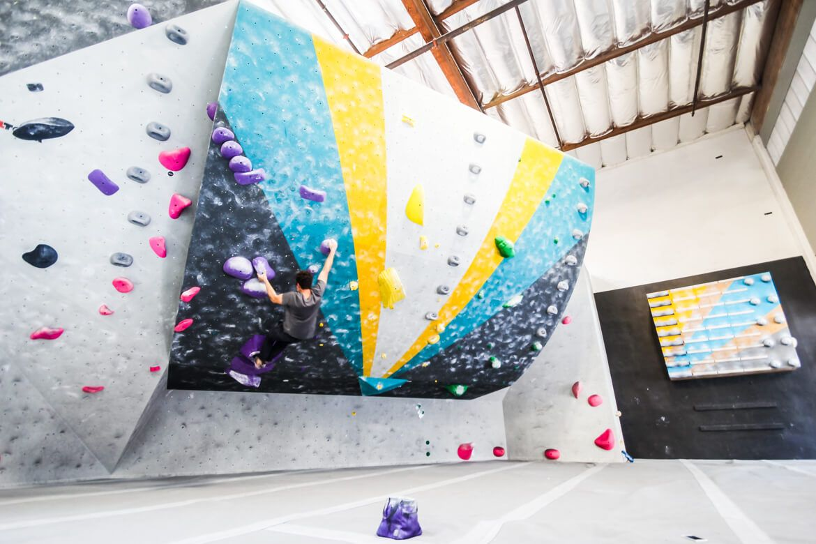 L A Boulders The Lab A Touchstone Bouldering Gym In Los Angeles Southern California Beta Together