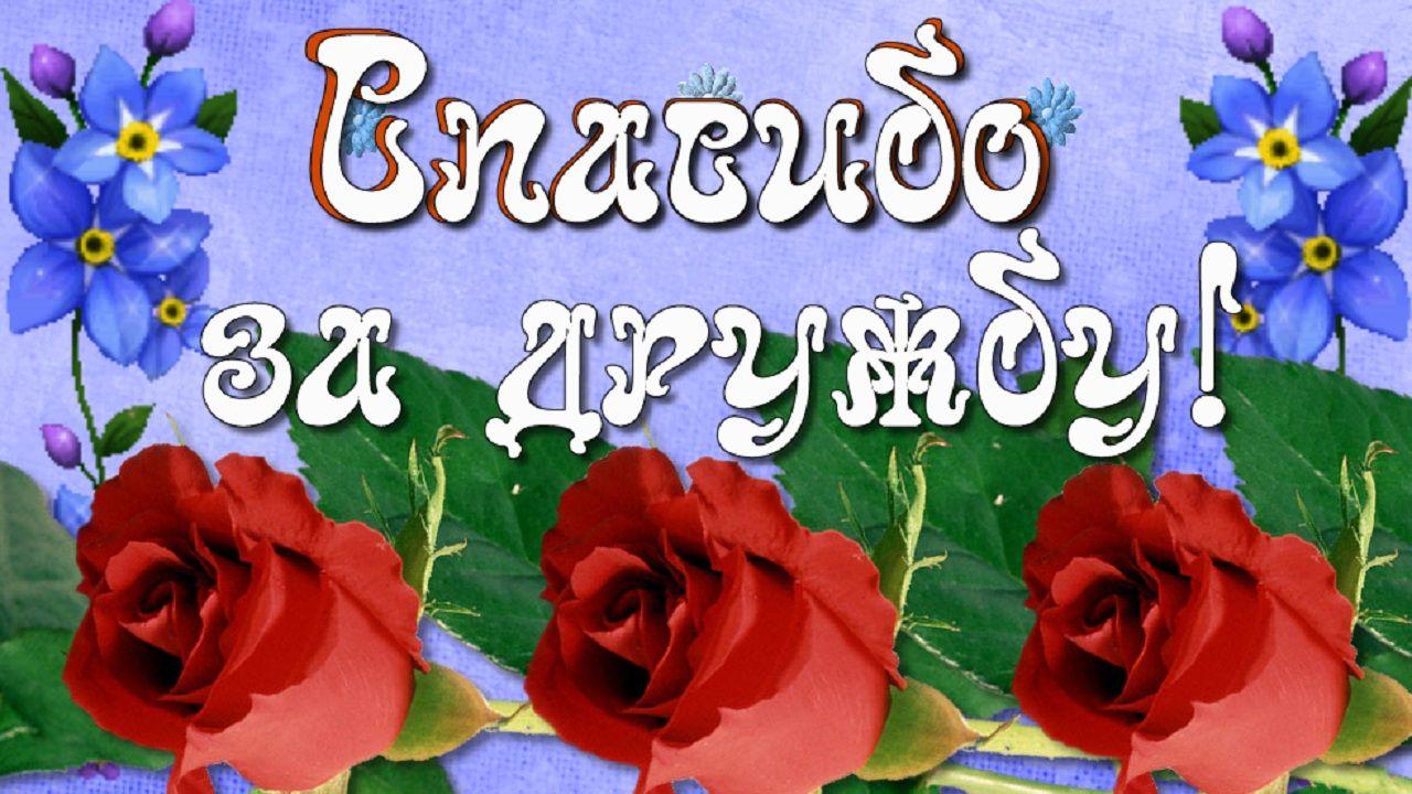 Spasibo Za Druzhbu Zhelayu Horoshih Dnej I Tyoplogo Obsheniya Krasivoe