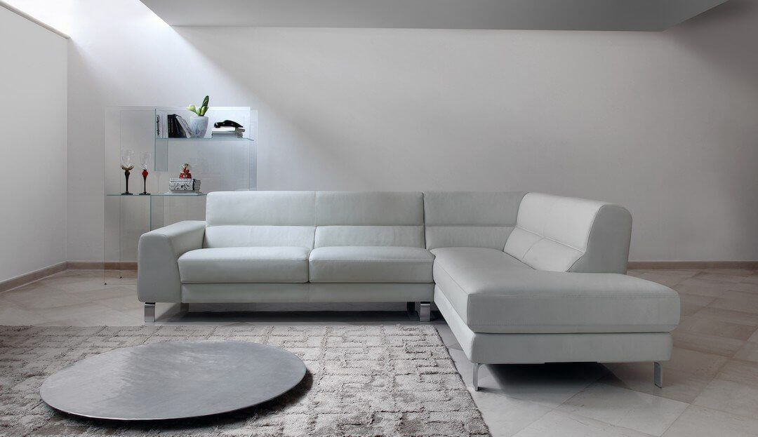 Silvio Chaise Corner Sofa Left Or Right Sofa Design Leather Corner Sofa Italian Sofa Designs